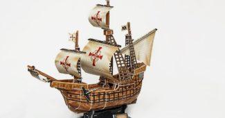 Restaurer une maquette de bateau
